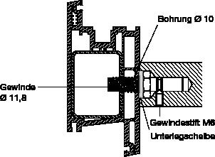 behle Montagesets 195… zur Befestigung von Türgriff, Stoßgriff bzw. Griffstange mit selbstschneidender Schrauben