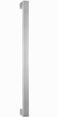 behle Haustürgriff Türgriff Griffstange Stoßgriff Rechteckprofil ES 3520.600 ug aus Edelstahl Griffenden auf Gehrung für Haustür