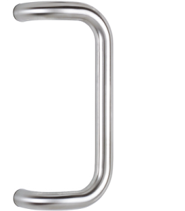 behle pull handle bended ES 30.300 gk in round profile stainless steel