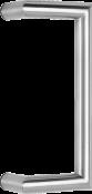 behle Haustürgriff Türgriff Stoßgriff ES 30.300 gkg aus Edelstahl für Haustüren