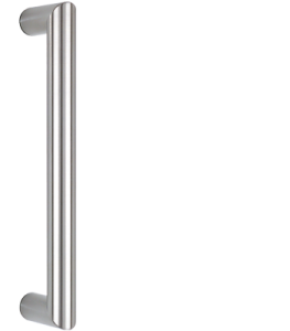 bebehle pull handle mitred ES 30.300 ug in round profile stainless steel