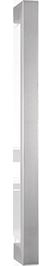 behle Haustürgriff Edelstahl Türgriff Edelstahl Stoßgriff Edelstahl Haustürgriff Rechteckprofil Türgriff Rechteckprofil Stoßgriff Rechteckprofil ES 3520.500 ug Griffenden auf Gehrung für Haustüren