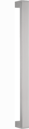behle Haustürgriff Edelstahl Türgriff Edelstahl Stoßgriff Edelstahl Haustürgriff Rechteckprofil Türgriff Rechteckprofil Stoßgriff Rechteckprofil ES 3520.16.0 s mit 45° schrägen Stützen für Haustüren