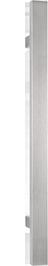 behle Haustürgriff Edelstahl Türgriff Edelstahl Stoßgriff Edelstahl Haustürgriff Rechteckprofil Türgriff Rechteckprofil Stoßgriff Rechteckprofil ES 3520.17.0 s mit geraden Stützen für Haustüren