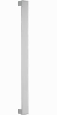 behle Haustürgriff Türgriff Griffstange Stoßgriff ES 4010.600 u aus Edelstahl mit Endstützen für Haustüren