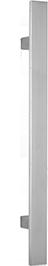 behle Haustürgriff Edelstahl Türgriff Edelstahl Stoßgriff Edelstahl Haustürgriff Flachprofil Türgriff Flachprofil Stoßgriff Flachprofil ES 4010.17... mit geraden Stützen für Haustüren