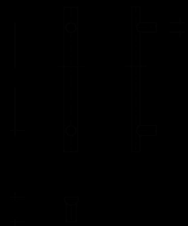behle Haustürgriff Griffstange Stoßgriff ES 4025.1... aus Edelstahl Halbrundprofil mit geraden Stützen, für Haustüren