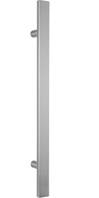 behle pull handle (front entry handle) ES 4025.1... in half round profile with straight supportsren