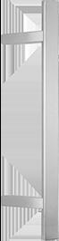 behle Haustürgriff Edelstahl Türgriff Edelstahl Stoßgriff Edelstahl Haustürgriff Halbrundprofil Türgriff Halbrundprofil Stoßgriff Halbrundprofil ES 4025.16... mit 45° schrägen Stützen für Haustüren