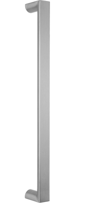 behle pull handle (front entry handle) ES 4025... ug in half round profile stainless steel