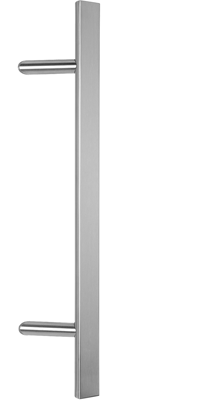 behle pull handle (front entry handle) ES 4025.9...  in half round profile with 45° supports