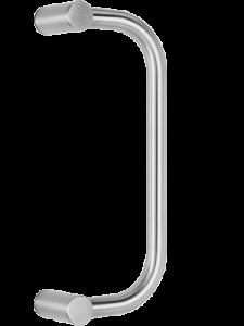 behle Haustürgriff Türgriff Stoßgriff ES 30.300.1 ks aus Edelstahl für Haustüren