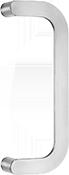 behle Haustürgriff Türgriff Stoßgriff ES 30.3008.300 gk aus Edelstahl für Haustüren