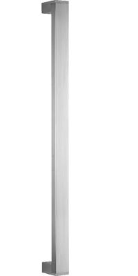 behle Haustürgriff Türgriff Griffstange Stoßgriff Rechteckprofil ES 3520.29.600 u aus Edelstahl Griffenden auf Gehrung für Haustür