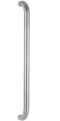 behle impact bar bended ES 30... u in round profile stainless steel