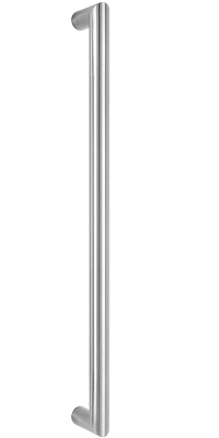 behle impact bar mitred ES 30... ug in round profile stainless steel
